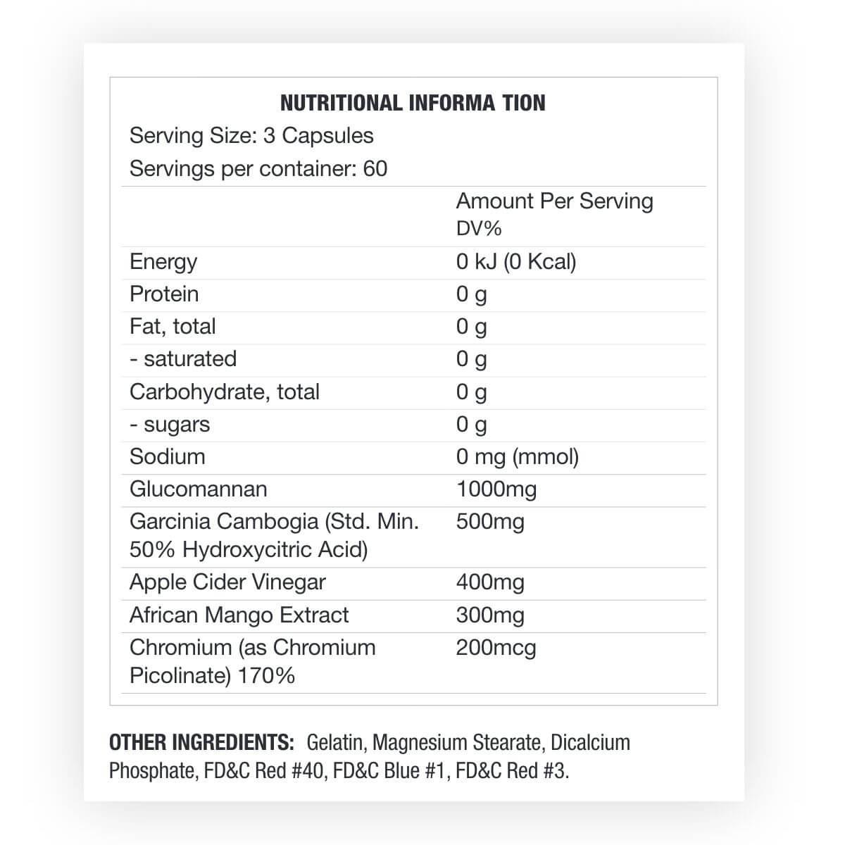 Glucomannan and chromium weight loss reviews